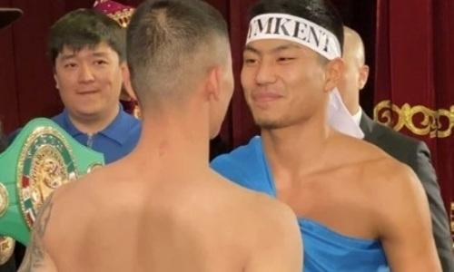 Небитые казахстанские боксеры прошли взвешивание перед боями за титулы в Алматы