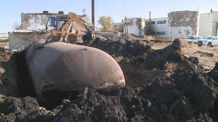 Опасные отходы закрытой пропарочной станции вывозят из Атырау