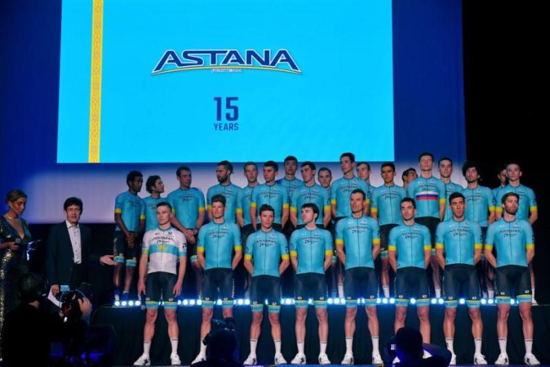 АstanaProTeam представила свой состав на 2020 год