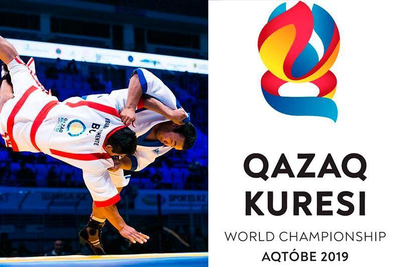 哈萨克式摔跤世锦赛首日:哈萨克斯坦代表团获得3枚金牌