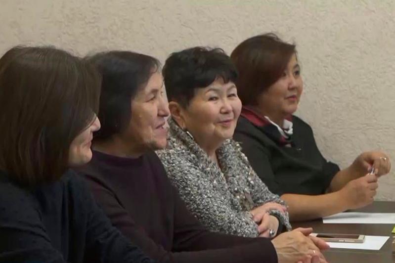 Открытый урок казахского языка провели в Киеве