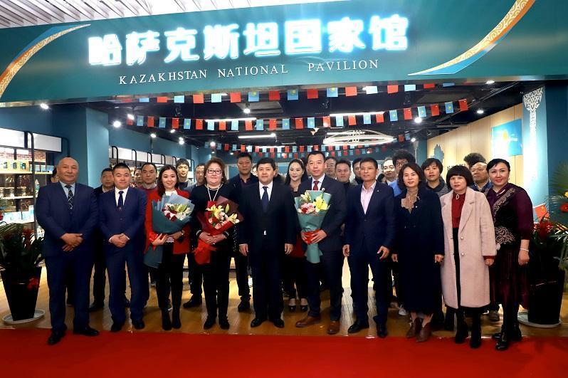 哈萨克斯坦在义乌中国进口商品城开设国家馆