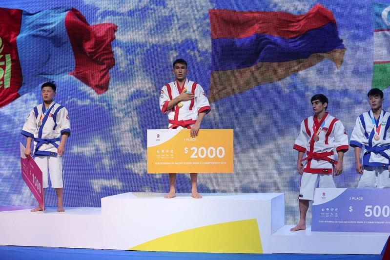 5 золотых медалей завоевали борцы Казахстана на чемпионате мира по Qazaq Kuresi