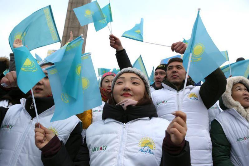 Алматылықтар «Мен қазақпын» челленджін қолдады