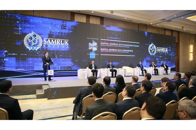 PM partakes in Digital Samruk conference
