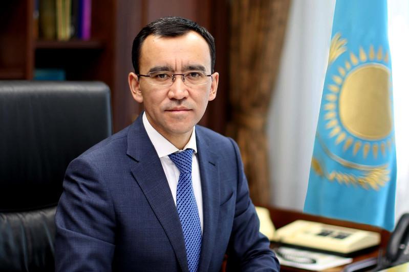 Маулен Ашимбаев Президент Администрацияси Раҳбарининг биринчи ўринбосари бўлди