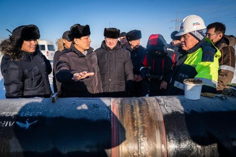 О строительстве газораспределительных сетей в столице рассказал Алтай Кульгинов