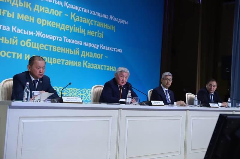 Вице-премьер Бердибек Сапарбаев встретился с жителями Актау