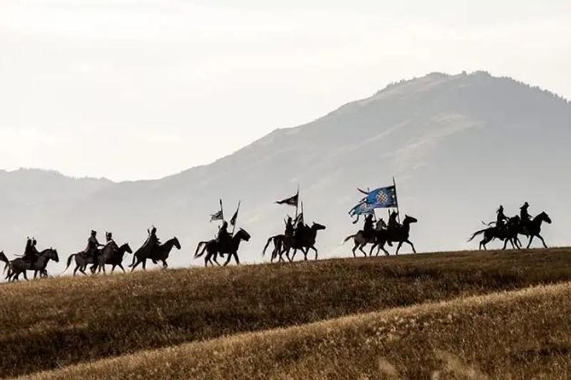 电影《哈萨克汗国--不败之剑》与土耳其观众见面