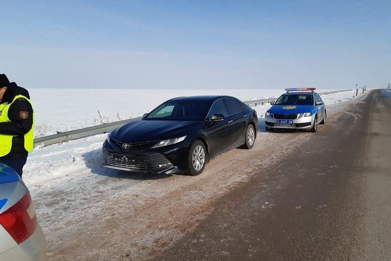 Угонщика Toyota Camry задержали алматинские полицейские