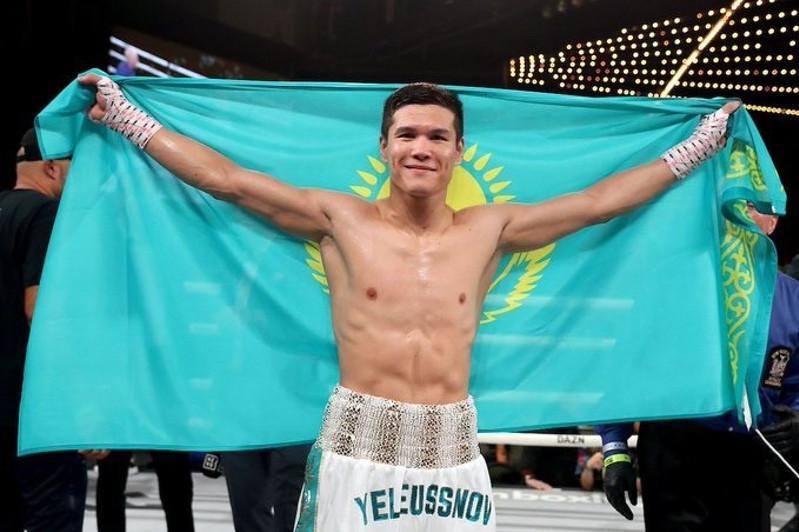 Данияр Елеусинов одержал девятую победу на профессиональном ринге