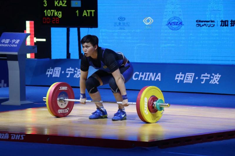 Раушан Мешитханова стала четвертой на Кубке Катара по тяжелой атлетике