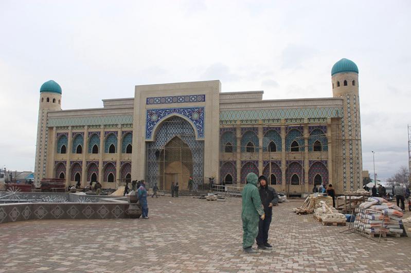 Историко-туристический центр «Шахристан» в Таразе готовится к открытию