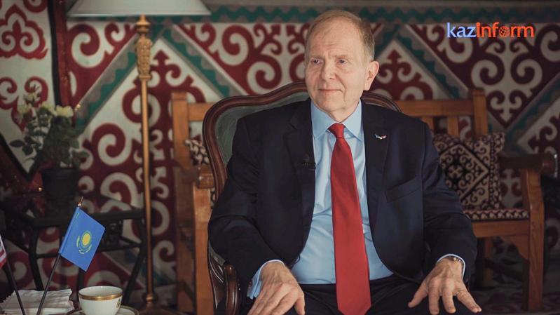 Посол США Уильям Мозер:Жить в Казахстане для меня-привилегия!