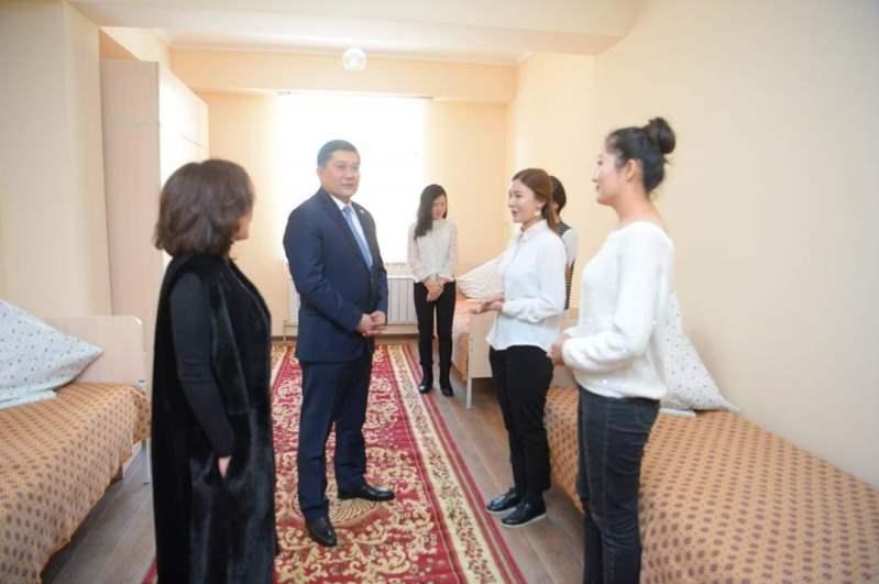 Студенческое общежитие сдали в эксплуатацию в Шымкенте