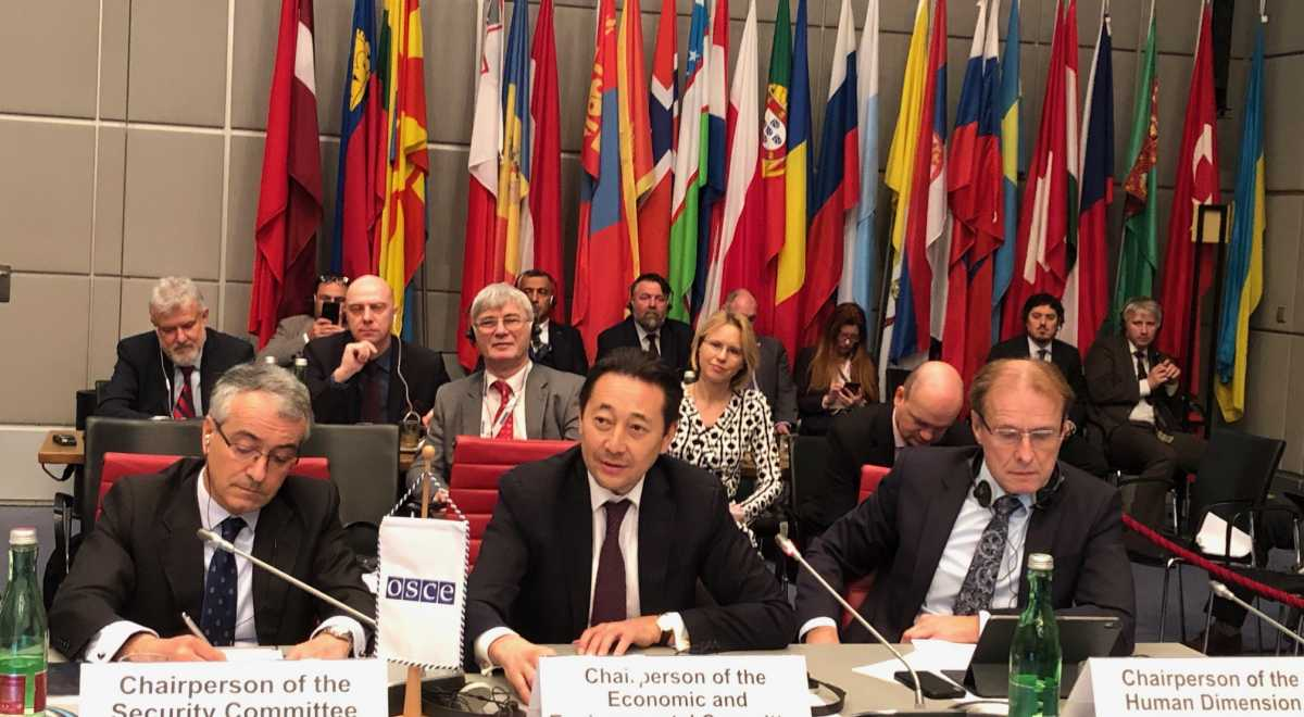 OSCE  highly commends outcomes of Kazakhstan's chairmanship in OSCE Economic and Environmental Committee