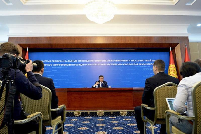 Kyrgyzstan's future lies in EAEU-President Jeenbekov