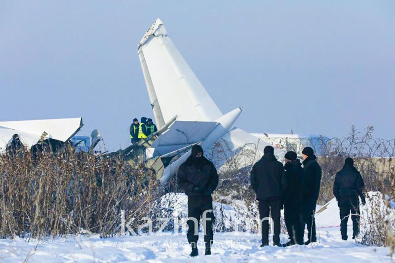 Число погибших в авиакатастрофе под Алматы увеличилось до 12