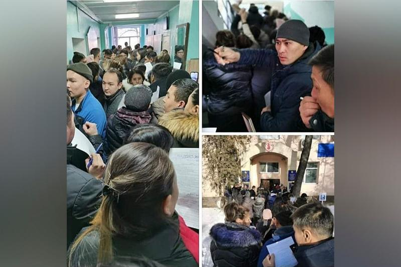 Almaty residents line up to donate blood for plane crash victims
