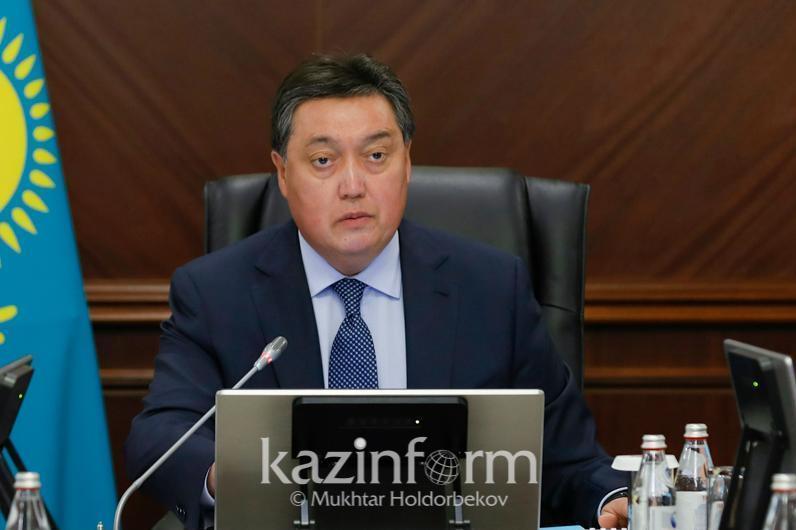 Премьер-Министр РК  поручил расследовать причины авиакатастрофы