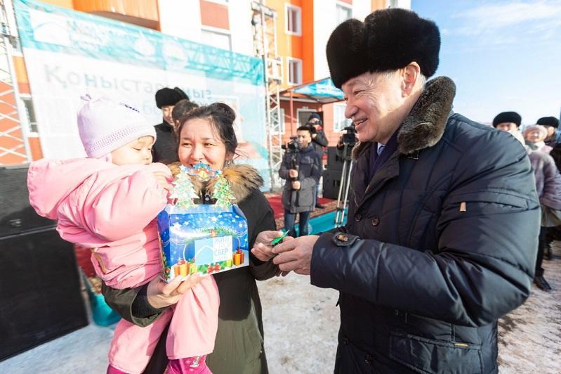 52 восточноказахстанца отметили новоселье в преддверии Нового года