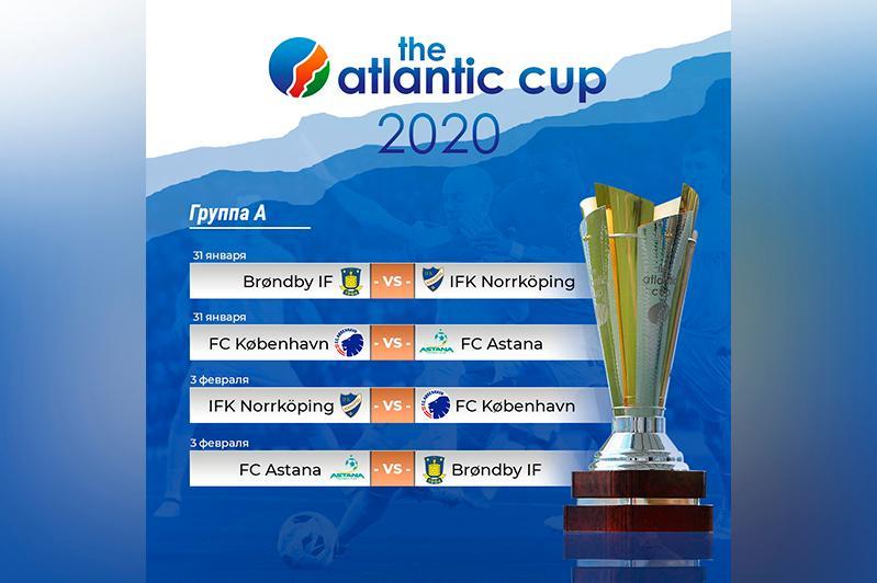 Футбол: «Астана» халықаралық турнирде қай күндері ойнайды