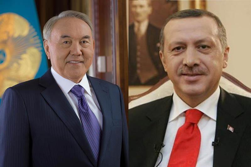 Нурсултан Назарбаев поговорил по телефону с Реджепом Тайипом Эрдоганом