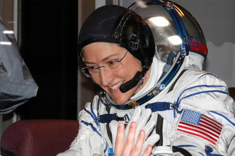 Названо имя новой рекордсменки женщины-космонавта