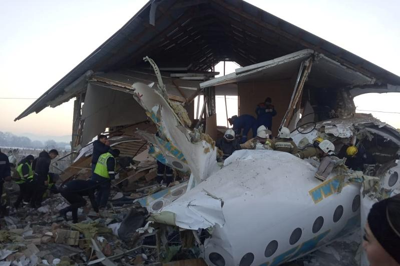 Prosecutor General's Office to verify legality of structures at Bek Air plane crash site