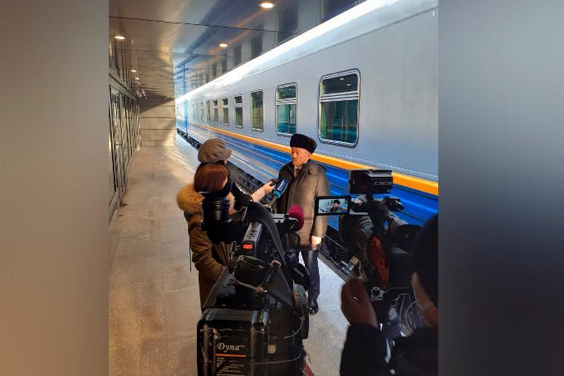 В преддверии праздника из столицы Казахстана отправятся новые вагоны