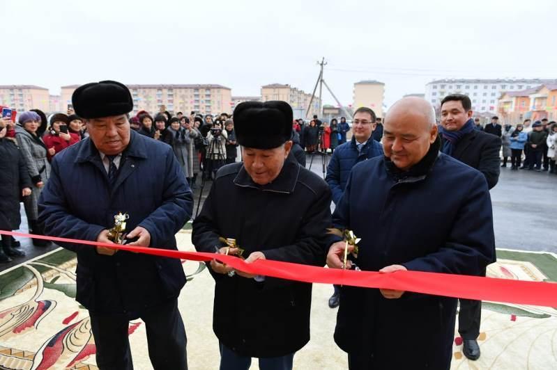 Новую школу открыли в Туркестане