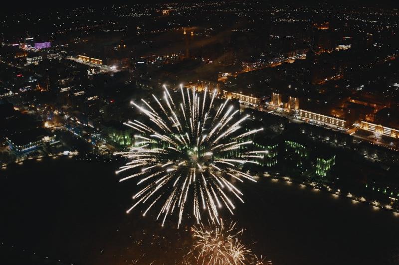 Fireworks display to crown New Year's Eve in Nur-Sultan