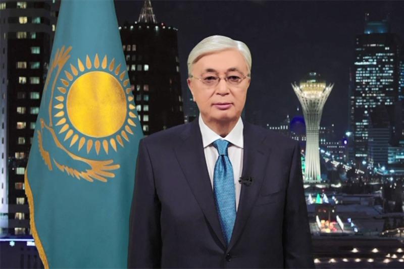ҚР Президенті қазақстандықтарды Жаңа жыл мерекесімен құттықтады