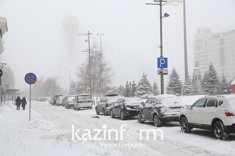 Сильная метель в столице: приостановлены пригородные маршруты, закрыты трассы