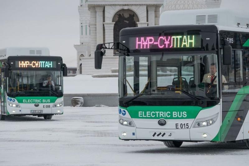 Электроавтобусы начали курсировать в столице