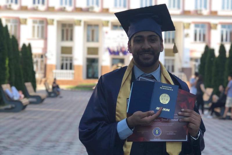 Выпускникам иорданских школ советую учиться в вузах Казахстана -  аль-Мусана Муфлех