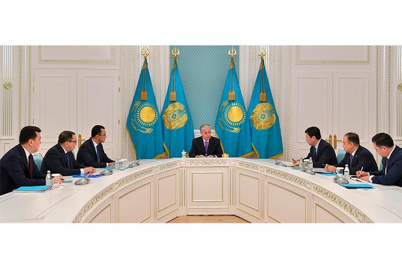 Касым-Жомарт Токаев провел совещание с руководством Администрации Президента