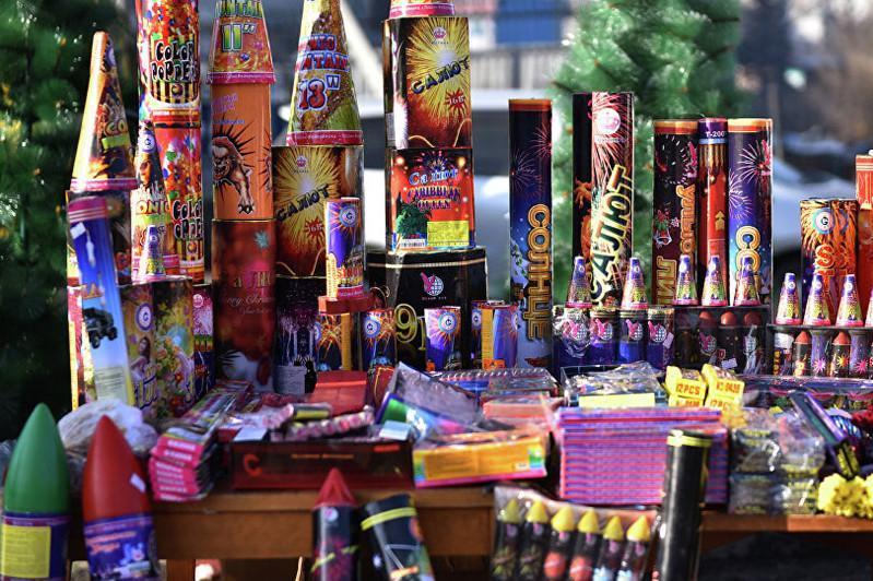 5 тысяч пиротехнических изделий изъяли полицейские в Карагандинской области
