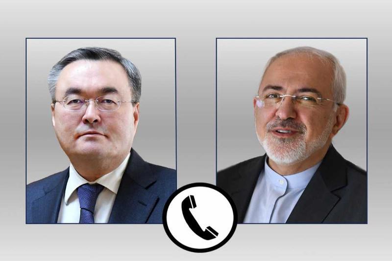 Главы МИД Казахстана и Ирана поговорили по телефону о ситуации на Ближнем Востоке