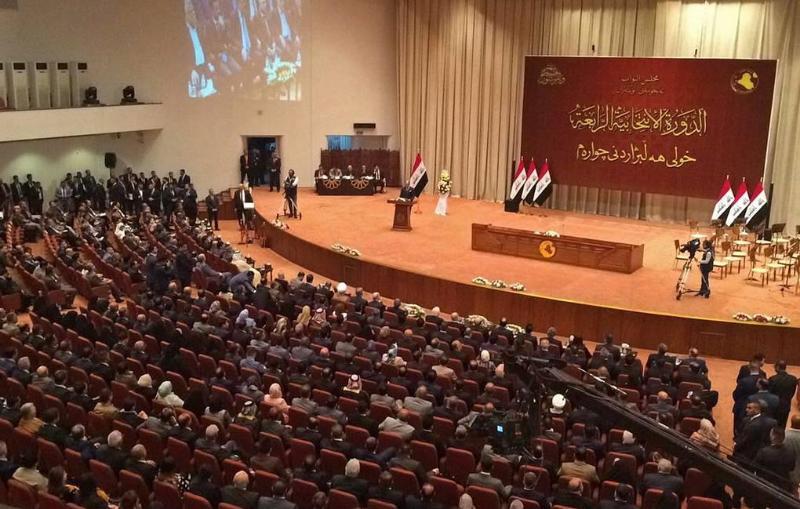 Irak depýtattary elden sheteldik áskerılerdi shyǵarý týraly rezolıýtsııa qabyldady
