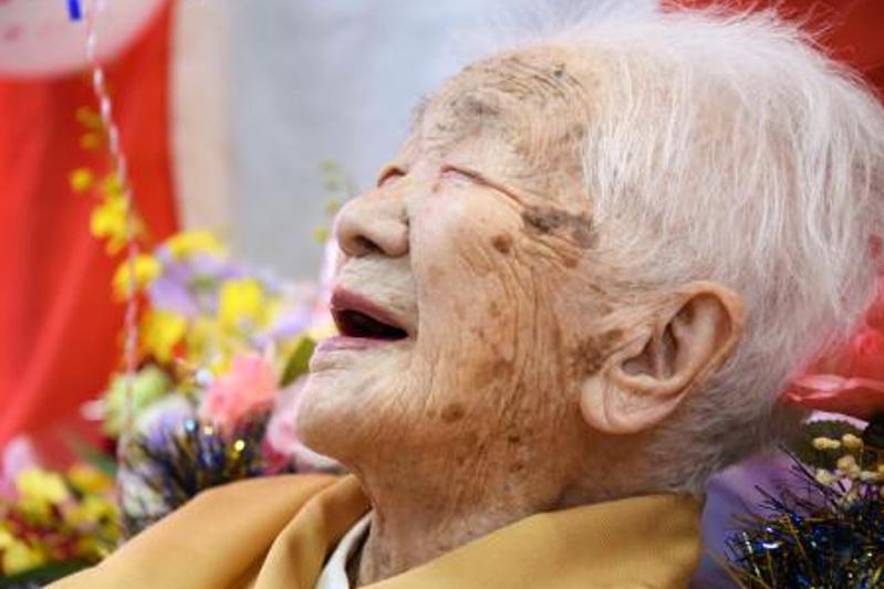 Японка Канэ Танака отметила свое 117-летие