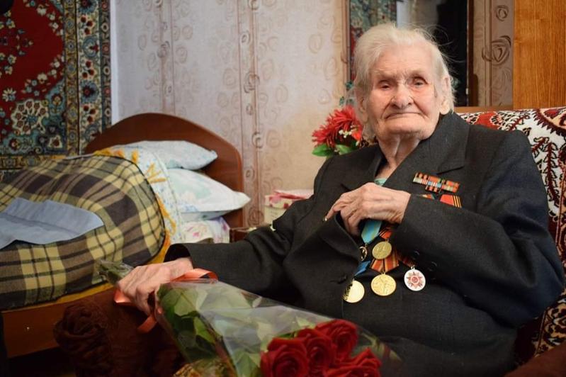 100-летие отмечает ветеран в Экибастузе
