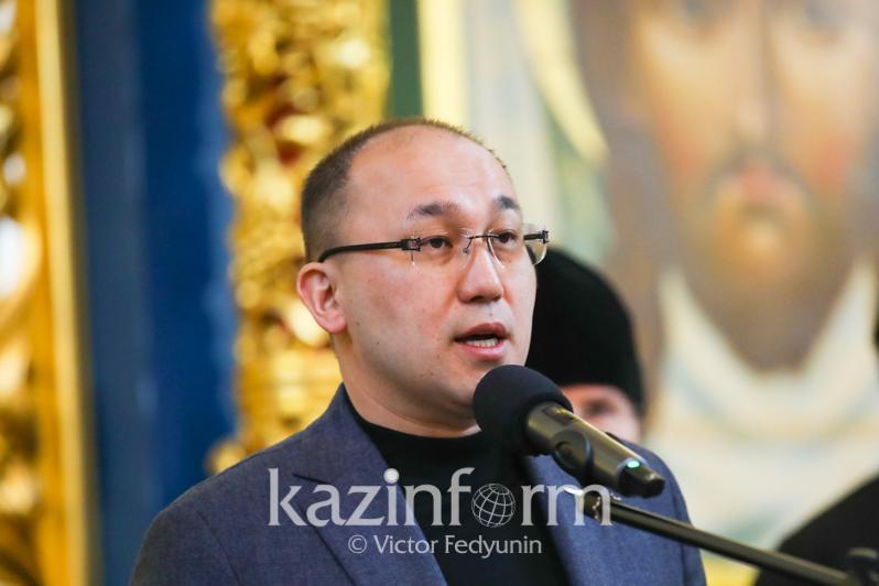Даурен Абаев поздравил православныххристиан Казахстана с Рождеством