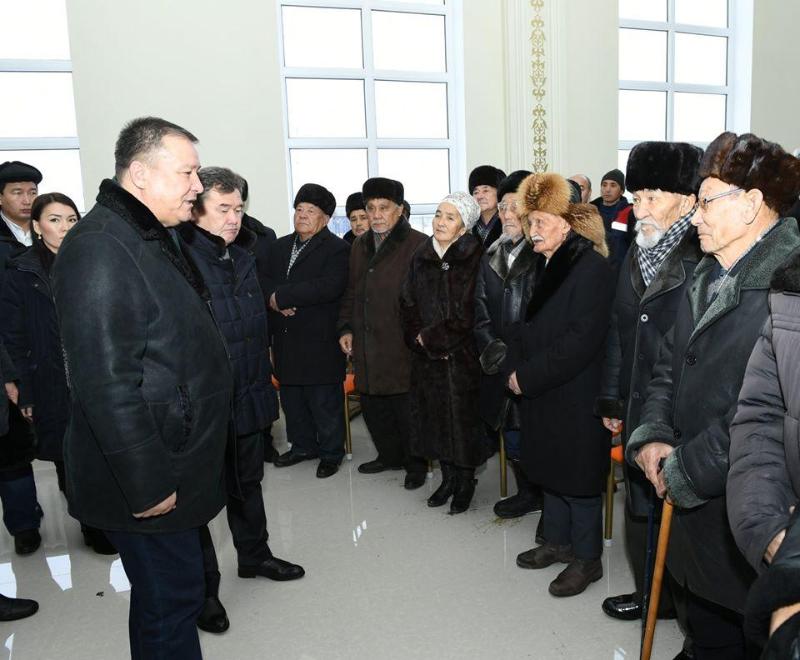 Қызылорда облысының әкімі солтүстік аудандарда болды