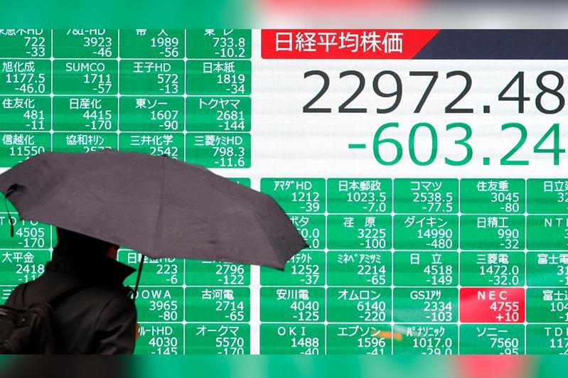 Иранның АҚШ базасына шабуылынан соң Токио қор биржасында баға құлдырады