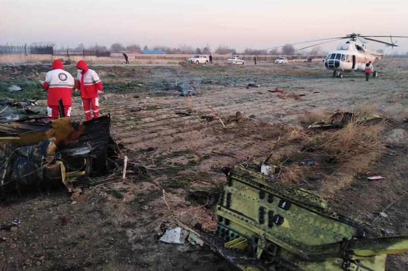 Тегеранда құлаған Украина ұшағындағы жолаушылардың барлығы мерт болды