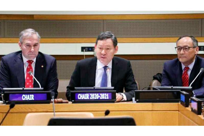 Казахстан возглавил глобальную Группу развивающихся стран, не имеющих выхода к морю