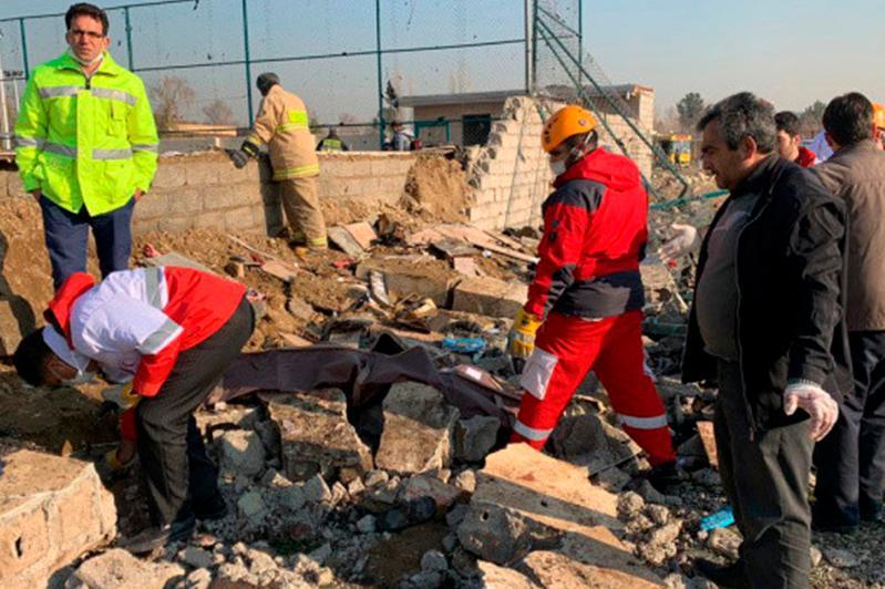 Тегерандағы апат: Ұшақ бортында 7 елдің азаматтары болған