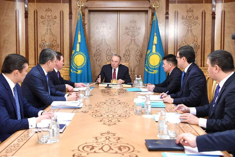 Нурсултан Назарбаев провел совещание с руководством Канцелярии Первого Президента РК – Елбасы