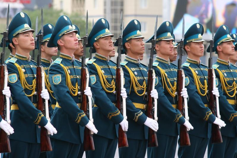 10 января – День Национальной гвардии РК